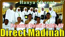 PESAWAT DIRECT MADINAH