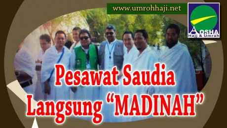 PESAWAT LANGSUNG MADINAH