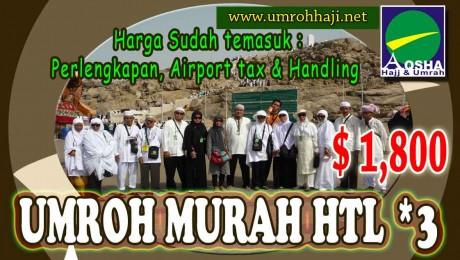 UMROH MURAH Hotel bintang 3
