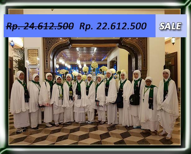 Umroh Murah 9 Hr - Etihad / Saudi Airlines
