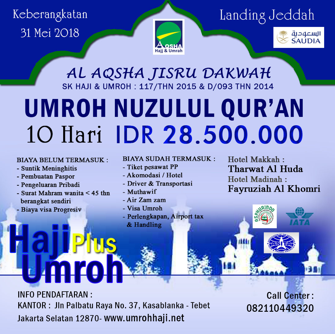 Umroh Nuzulul Qur'an