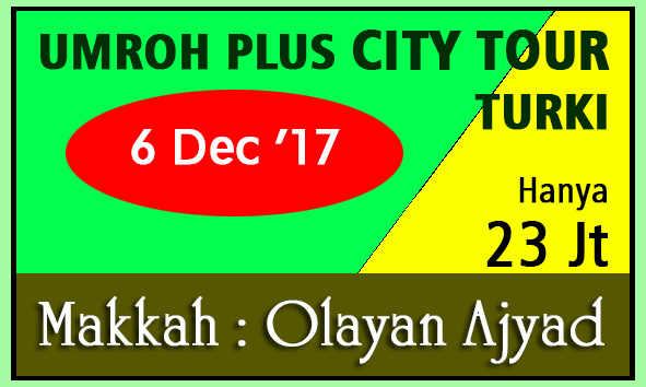 umroh murah umroh plus city tour turki