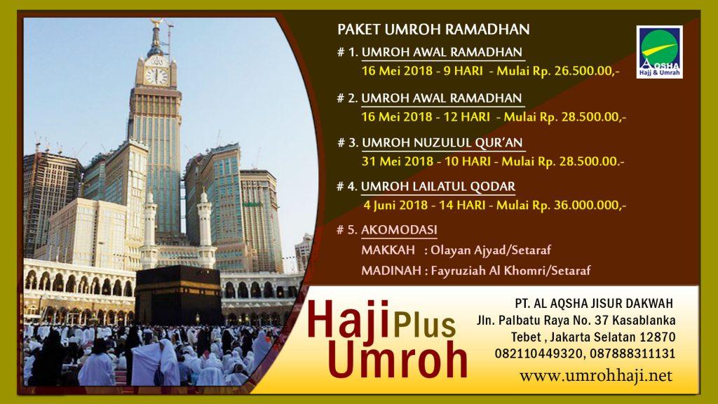 Umroh Ramadhan Murah untuk Gapai Lailatul Qodar